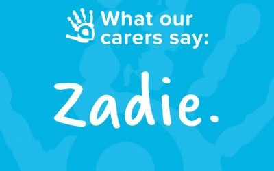 What Our Carers Say: Zadie, AFA Foster Carer