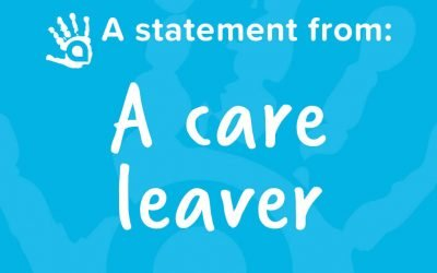 A Statement From a Care Leaver